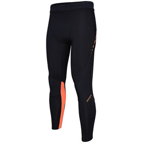 Zone3 Compression Tights Dam black/neon orange